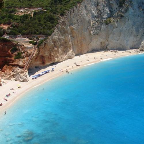 Παραλία Πόρτο Κατσίκι - Λευκάδα Παραλίες