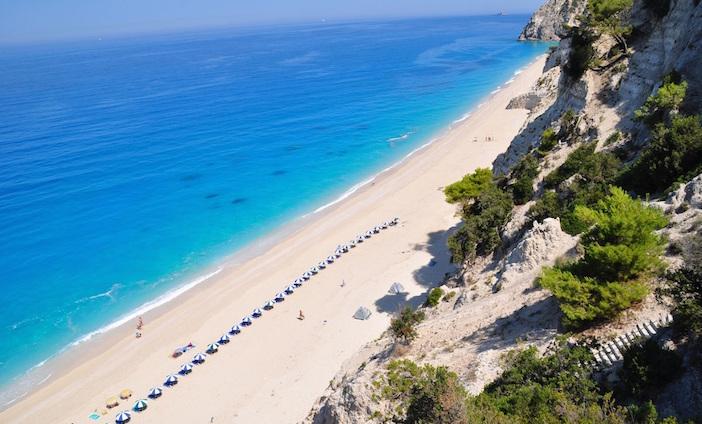 Lefkada Egremni beach