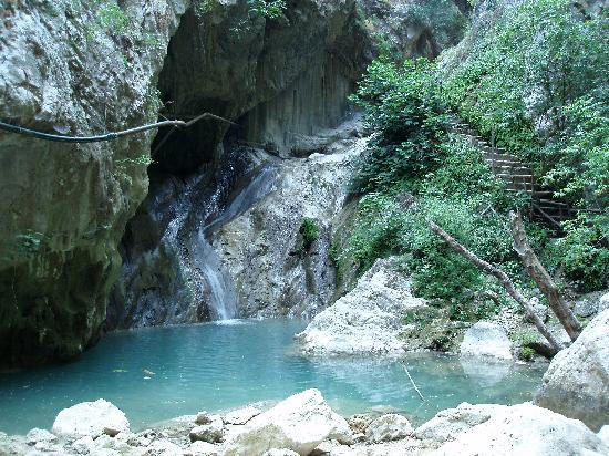 Waterfalls of Nydri, Leukada