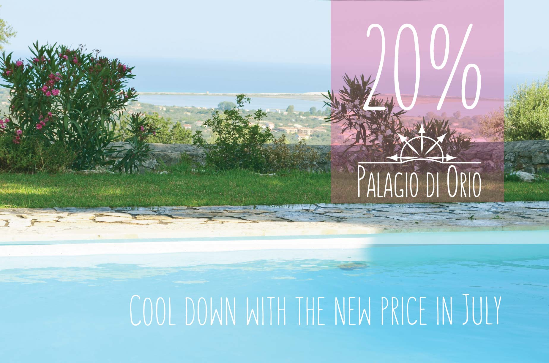 Cool down in hot July with special price